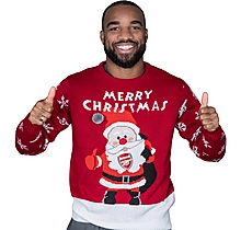 Arsenal Adult Santa Christmas Jumper
