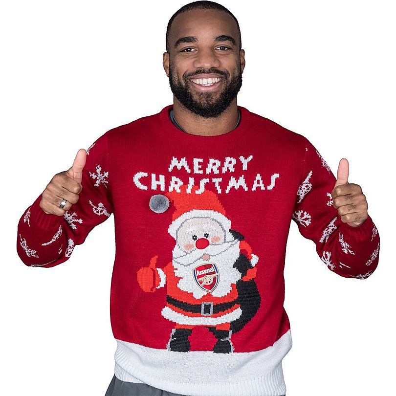 Arsenal Official Christmas Jumper Official Online Store