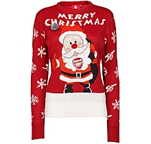 Arsenal Womens Christmas Jumper
