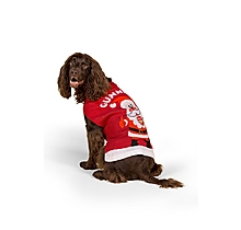 The Official Arsenal Dog Christmas Jumper