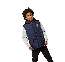 Arsenal Kids Hooded Gilet (2-13yrs)