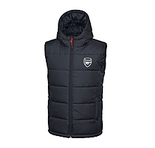 Arsenal Kids Hooded Gilet (4-5yrs)
