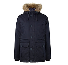 Arsenal Faux Fur Hood Parka Jacket