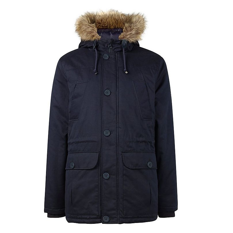 Arsenal Fur Hood Parka Jacket | Official Online Store