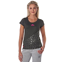 Arsenal Womens Diagonal Print T-Shirt