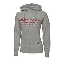 Arsenal Womens Zip Up Hoody