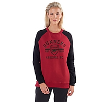 Arsenal Womens Raglan Sleeve Sweatshirt