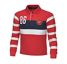 Arsenal Kids Long Sleeve Polo (2-7yrs)