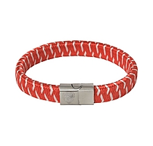 Arsenal Plaited Crest Clasp Bracelet