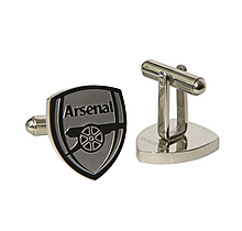 Arsenal Crest Shaped Stainless Steel Cufflinks
