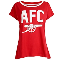 Arsenal Womens Cannon Snowflake Pyjamas