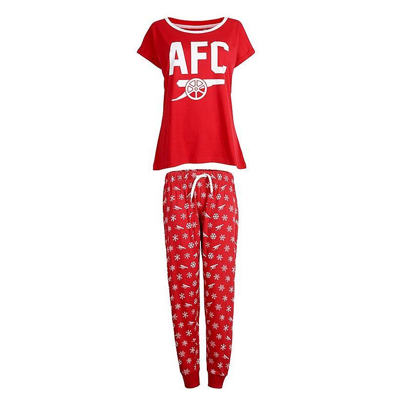 Arsenal Womens Cannon Snowflake Pyjamas ... 301eb8adaf