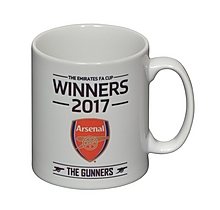 Arsenal 2017 FA Cup Winners Mug
