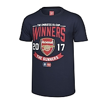 Arsenal Junior 2017 Emirates FA Cup Winners T-Shirt