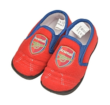 Arsenal Kids Goal Fur Heel Slipper