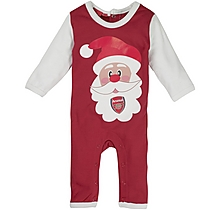 Arsenal Baby Christmas Sleepsuit