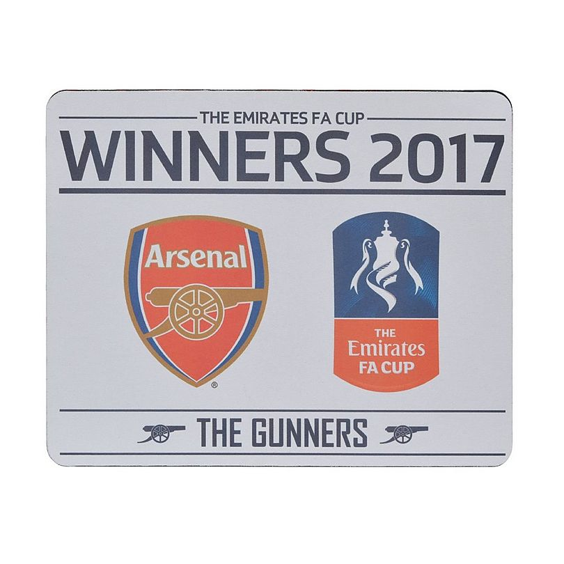 Arsenal 2017 Emirates Fa Cup Winners Mouse Mat Fa Cup