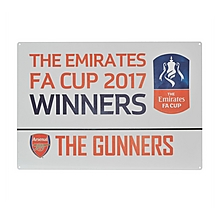Arsenal 2017 Emirates FA Cup Winners Street Sign