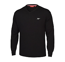 Arsenal Black V Neck Cotton Jumper