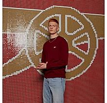 Arsenal Red Crew Neck Cotton Jumper