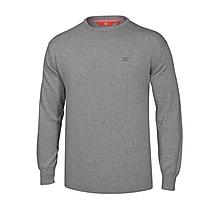 Arsenal Light Grey Crew Neck Cotton Jumper
