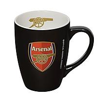 Arsenal Black Bistro Mug