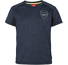 Arsenal Kids Leisure Marl T-Shirt (2-13yrs)