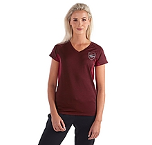 Arsenal Womens Leisure Marl T-Shirt