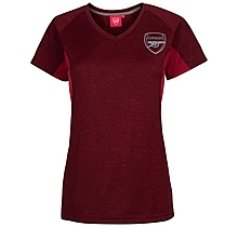 Arsenal Womens Leisure Marl T-Shirt