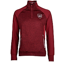 Arsenal Leisure Marl 3/4 Zip Top