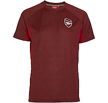 Arsenal Leisure Marl Panel T-Shirt