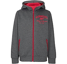 Arsenal Kids Gunners Zip Up Hoody (8-13yrs)