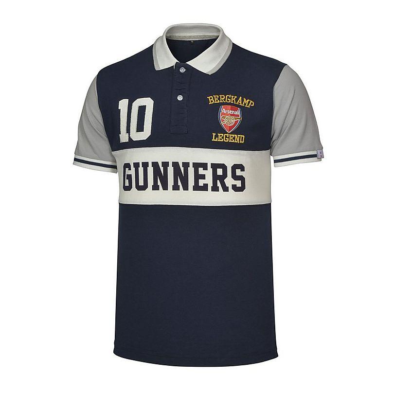 c489fcedaa3 Arsenal Legend Bergkamp Polo Shirt