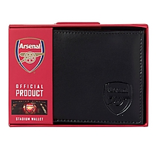 Arsenal Stadium Print Crest Wallet