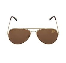 Arsenal Gold Aviator Style Sunglasses