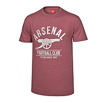 Arsenal Red Marl Cannon T-Shirt