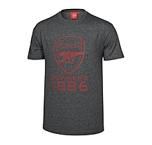 Arsenal Charcoal Marl Gunners T-Shirt