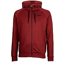 Arsenal Red Marl Tech Zip Hoody