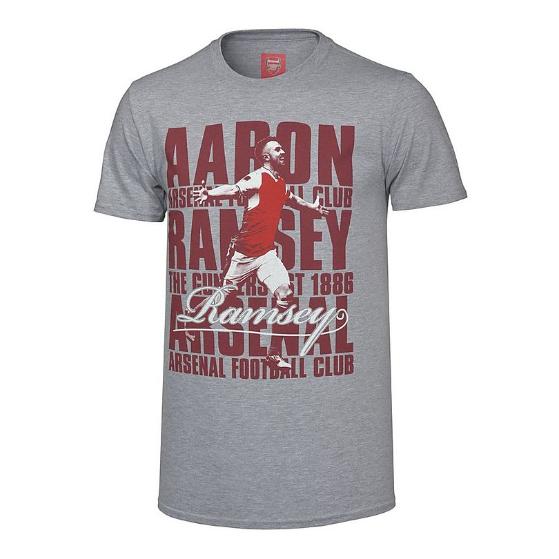 best service 39c0c d27f3 Arsenal Ramsey Player T-Shirt | Official Online Store
