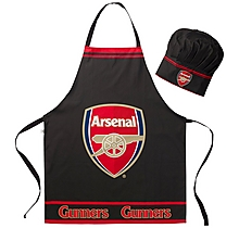 Arsenal Apron & Chef Hat Set