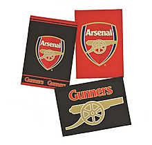 Arsenal 3 Pack Tea Towel Set