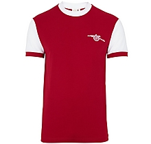 9ee9b14534e Arsenal 70-72 Short Sleeve Home Shirt ...