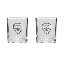 Arsenal Gold Crest Tumbler 2 Pack