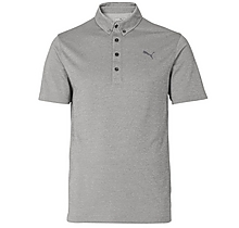 Arsenal Puma Golf Oxford Heather Polo