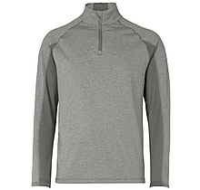 Arsenal Puma Golf Core 1/4 Zip Grey Popover