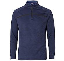 Arsenal Puma Golf Bonded 1/4 Zip Blue Marl Popover