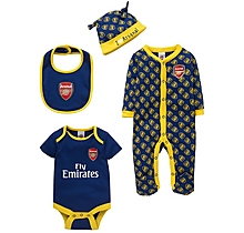 Arsenal Baby Away Colours 4pc Set