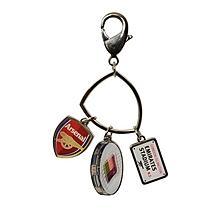 Arsenal Charm Keyring