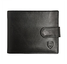 Arsenal Black Leather Wallet