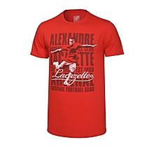 Arsenal  Junior Lacazette Player T-Shirt